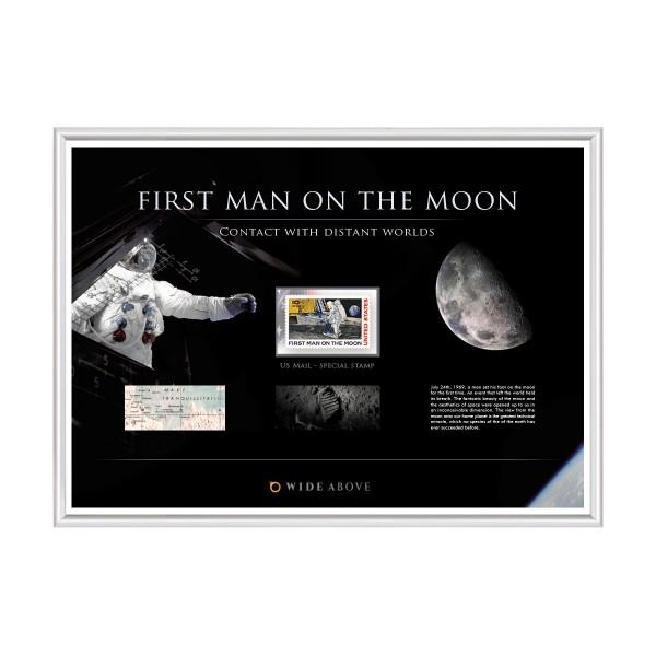 """Briefmarke Sonderausgabe """"First Man on the Moon"""""""