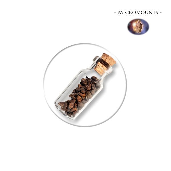 Micromounts - Meteoite Bruchstücke