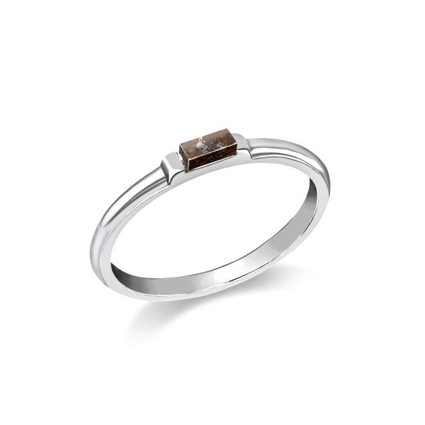 Origo - Meteorite Ring eckig