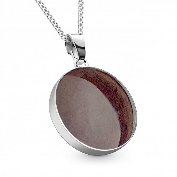 Meteorite Stern Taler Silber 19 mm